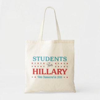 Studenten für Hillary Tragetasche