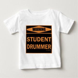 Studenten-Schlagzeuger Baby T-shirt