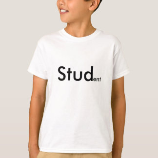 Studenten-Slogan T-Shirt