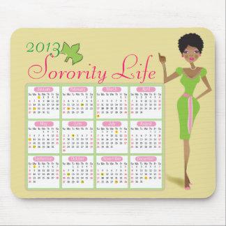 Studentinnenverbindung-Leben-Kalender Mousepad