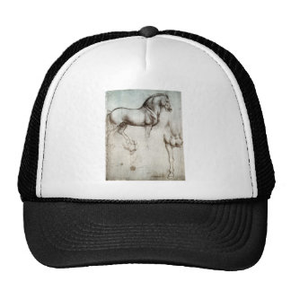 Studie der Pferde - Leonardo da Vinci Retro Cap