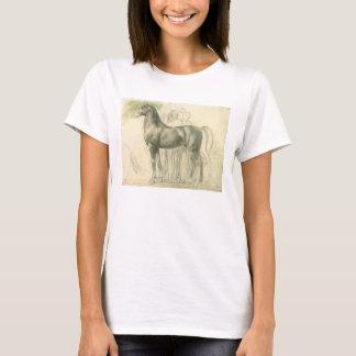 Studie eines Pferds durch Edgar entgasen, Vintage T-Shirt