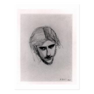 Studie für den Kopf von Ferdinand für 'Ferdinand Postkarte