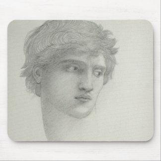 Studie für den Kopf von Perseus (Bleistift auf Mousepad