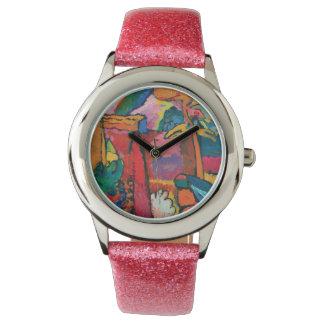 Studie für Improvisation V durch Wassily Kandinsky Uhr
