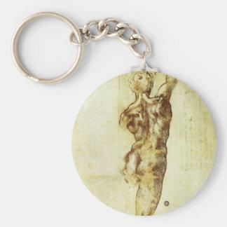 Studie für Kampf Cascina Michelangelo Renaissance Schlüsselanhänger
