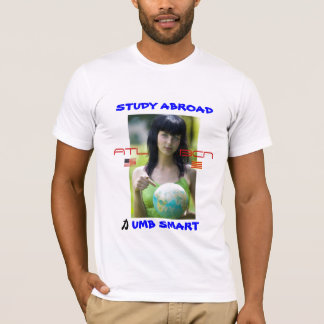 Studie im Ausland, ATL zu BCN T-Shirt