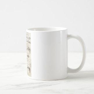Studien des Armes Kaffeetasse