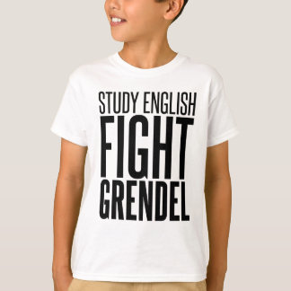 Studien-Englisch, Kampf Grendel T-Shirt