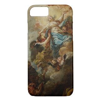 Studieren Sie für die Annahme der Jungfrau, c.1760 iPhone 8/7 Hülle