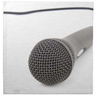 Studio-Mikrofon Serviette