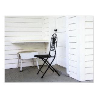 Stuhl und Bank Photographien