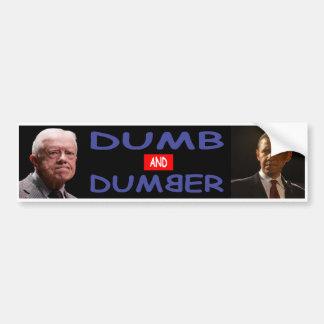 Stummer Demokrat-Autoaufkleber Autoaufkleber