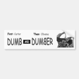 Stummerer Demokrat-Autoaufkleber Autoaufkleber