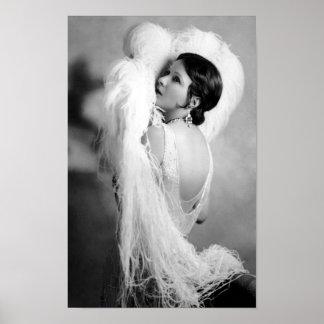 Stummfilm-Stern Norma Talmadge Poster