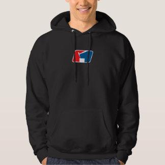 STUMPF Logo-SchwarzesHoodie Kapuzensweatshirts