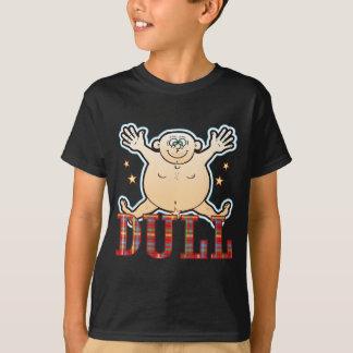 Stumpfer fetter Mann T-Shirt