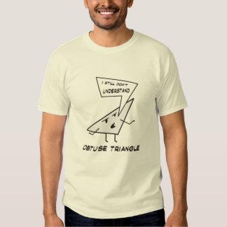 Stumpfes Dreieck T Shirt