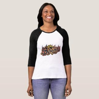 Stumpft der klassischen den Raglan Felsen-Damen T-Shirt