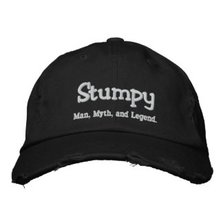 Stumpy, Mann, Mythos und Legende Bestickte Kappe