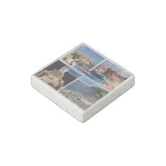 Stunde Kroatien - Dubrovnik - Wände - Stein-Magnet