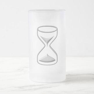 Stunden-Glas/Timer Mattglas Bierglas