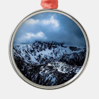 Sturm Brewin Rundes Silberfarbenes Ornament