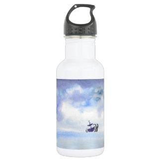 Sturm geworfene Schiffs-Wasser-Flasche Edelstahlflasche