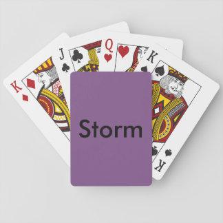 Sturm-Karten Spielkarten