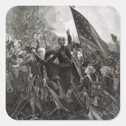 Stürmen des steinigen Punktes, im Juli 1779 Stickers