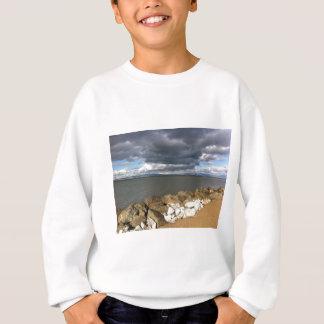 Stürmische Wolken über San Francisco Bay Sweatshirt