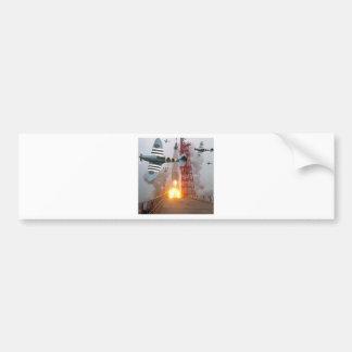 Sturzbomber-Angriffs-Rakete! Autoaufkleber
