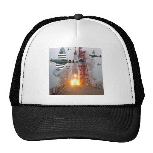 Sturzbomber-Angriffs-Rakete! Baseball Caps