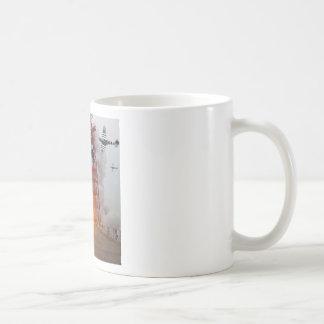 Sturzbomber-Angriffs-Rakete! Tee Tassen