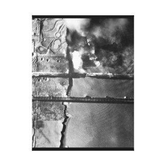 Sturzbomber der Marine AD-3 pulls_War Bild Galerie Faltleinwand