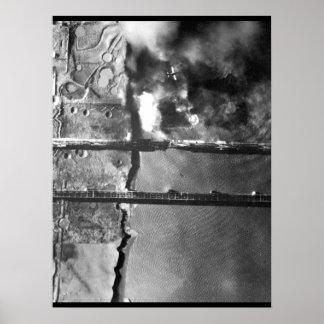 Sturzbomber der Marine AD-3 pulls_War Bild Poster