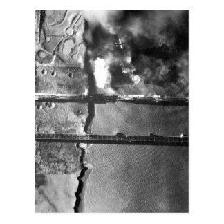 Sturzbomber der Marine AD-3 pulls_War Bild Postkarten