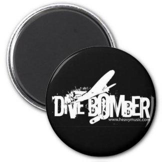STURZBOMBER Magnet Runder Magnet 5,1 Cm