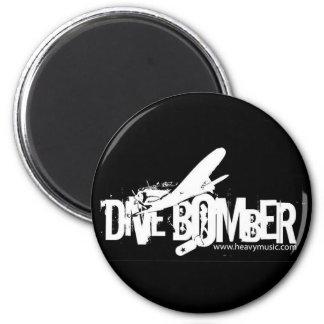 STURZBOMBER Magnet Runder Magnet 5,7 Cm