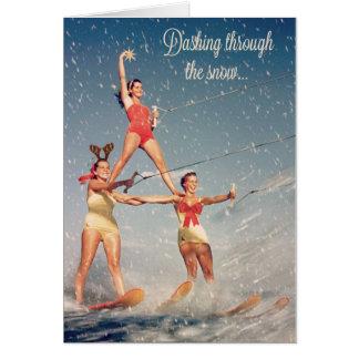 Stürzen durch den Schnee! Karte