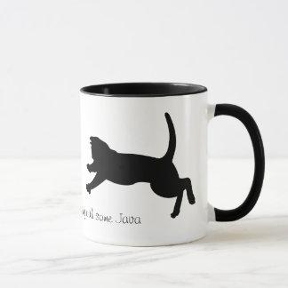 stürzenkatzenschatten-Kaffee-Tasse Tasse