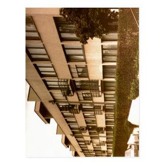 Stuttgart - Weissenhof, Deutschland-Haus durch Postkarte