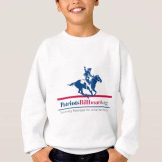 Stützamerikanische Werte bei PatriotsBillboard.org Sweatshirt