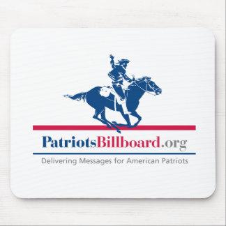 Stützamerikanische Werte mit Patriotsbillboard.org Mauspad