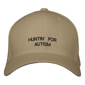 Stützautismus mit Ihrer Liebe von Jagd Bestickte Kappe