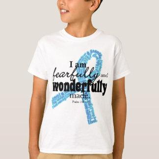 Stützblaues Band T-Shirt
