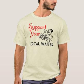 Stützeinheimisch-Kellner T-Shirt