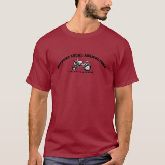 Stützeinheimisch-Landwirtschaft T-Shirt
