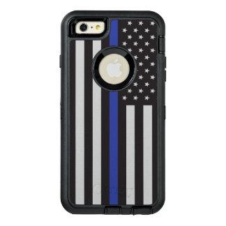 Stützen Sie die Polizei-dünne Blue OtterBox iPhone 6/6s Plus Hülle