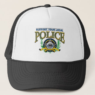 Stützen Sie Ihre lokale Polizei Truckerkappe